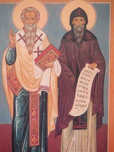 Cyril și Metodie alfabetul slav