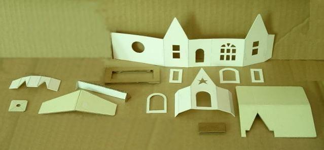 Cum de a face o casă din hârtie pentru joc sau de decorațiuni interioare