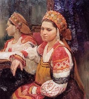 Cum sa faci un kokoshnik unui costum rusesc