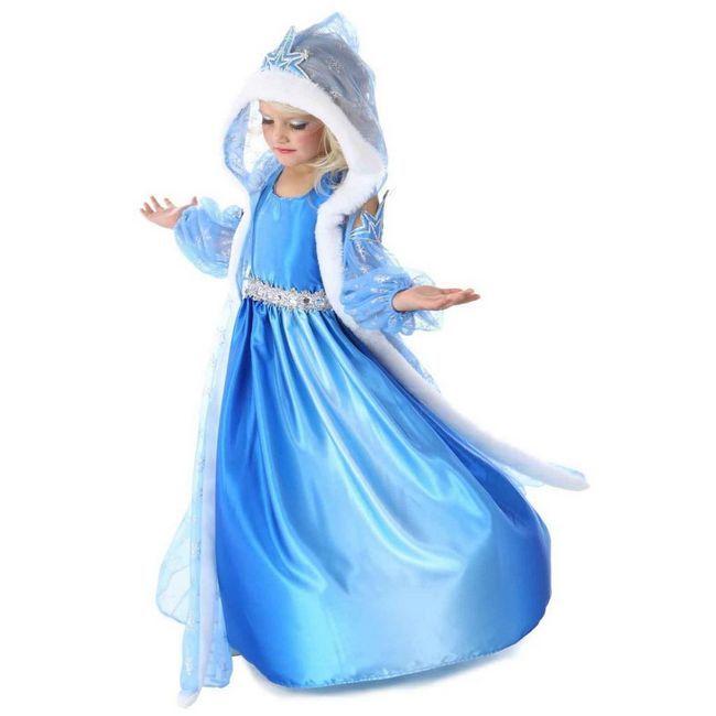 Cum sa faci un costum de Snow Maiden?