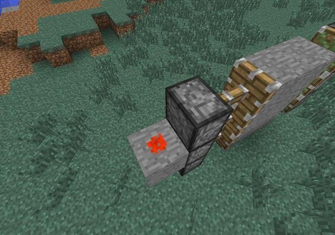 cum să faci un piston în minecraft
