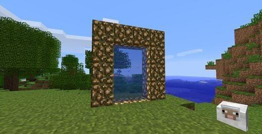 minecraft cum să faci un portal către cer