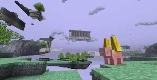 Minecraft portal de moda pentru paradis