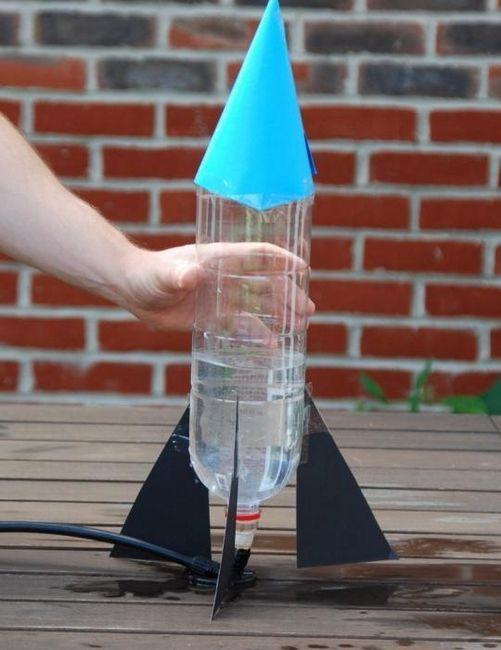 Cum sa faci o racheta dintr-o sticla - o jucarie pentru viitoarea regina
