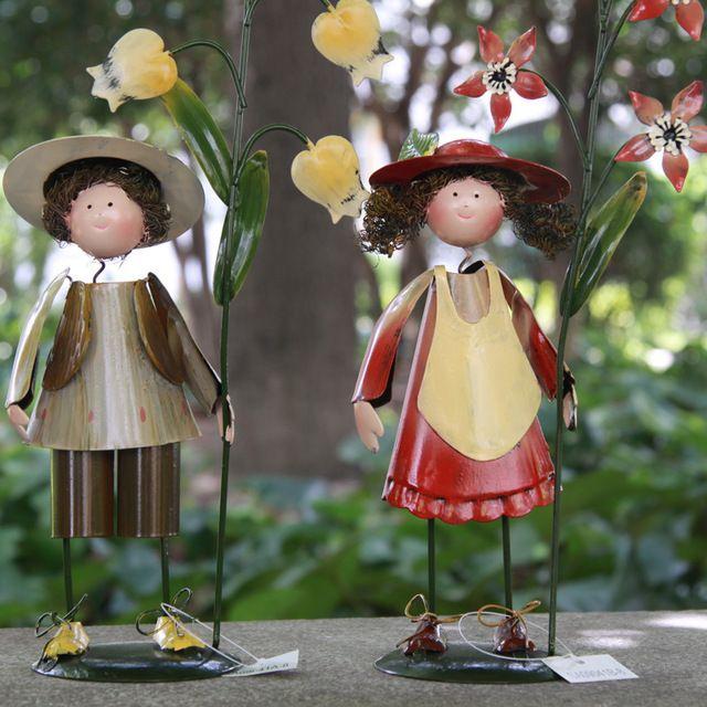 Cum să faci figuri de grădină cu mâinile lor?