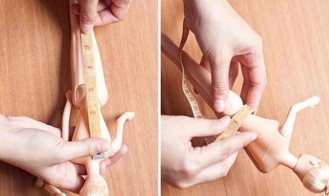 cum să coaseți o rochie de papusa Barbie