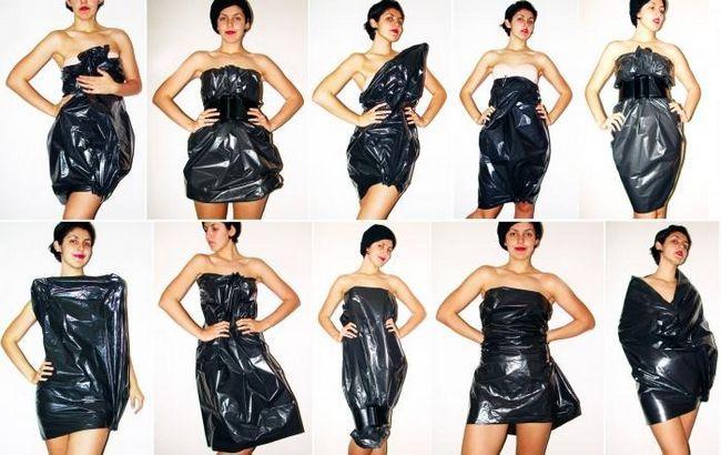 Cum să coaseți o rochie din pachete