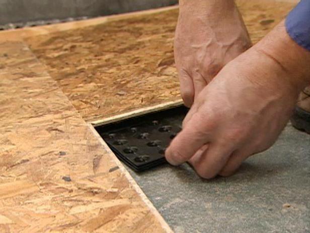 modul de izolare a pardoselii din beton