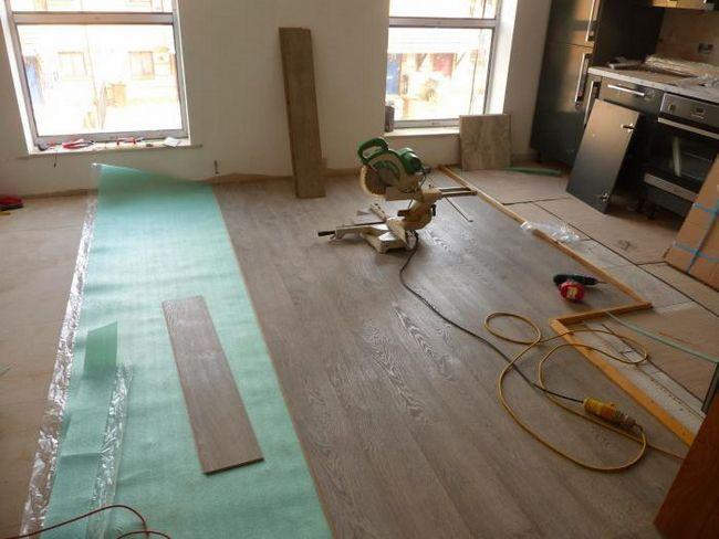 mai cald pentru podele din lemn