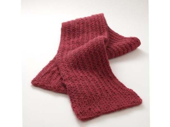 Cum de a tricota o eșarfă?