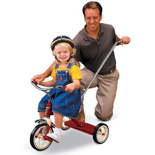 Cum să alegi un triciclu de biciclete pentru copii cu mâner