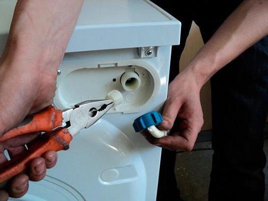 filtru pentru mașină de spălat în apă proastă