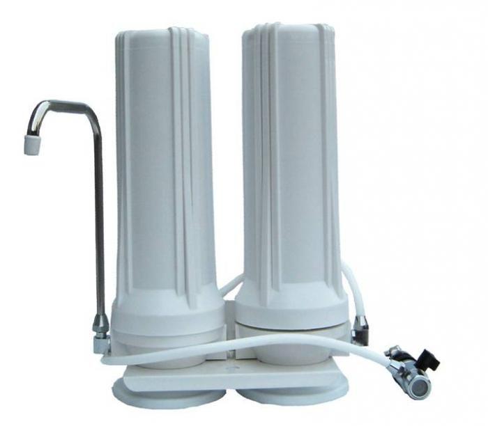 instalarea unui filtru de apă sub chiuvetă