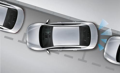 senzor de parcare
