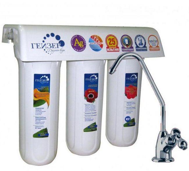 filtre de apă geyser cartușe
