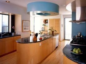 Interioarele moderne ale bucătăriei