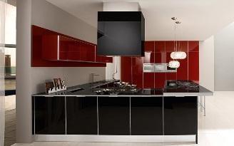 Bucătărie interioară modernă fotografie