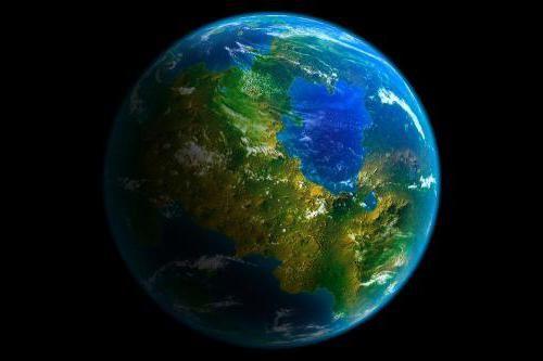 o planetă ca pământul