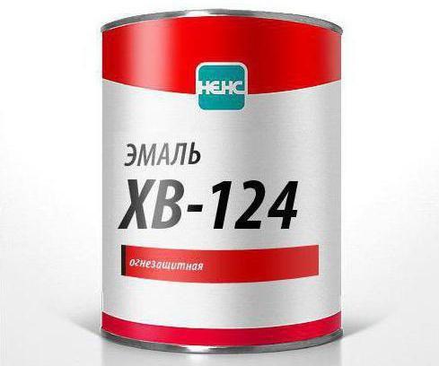 технические характеристики эмаль хв 124