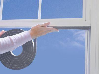 spuma din cauciuc pentru ferestre