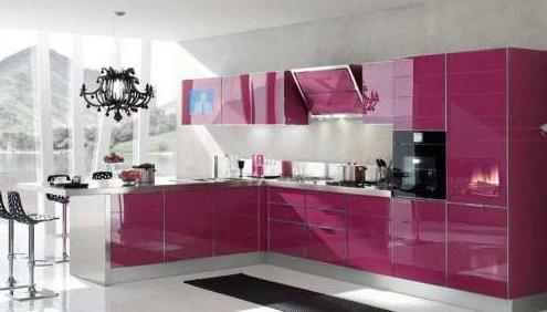 Ce fațadă pentru bucătărie este mai bine să alegeți recenzii