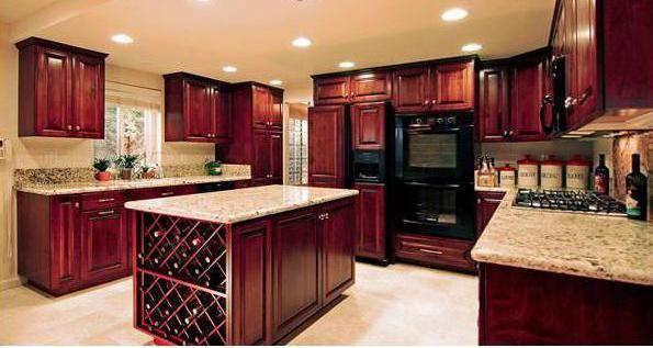 Ce material pentru fațada bucătăriei este mai bine de ales