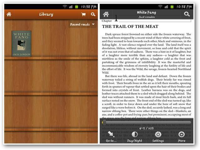 care format de cărți acceptă android 4