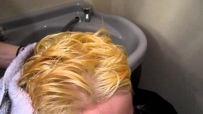 culoarea părului fără lumină
