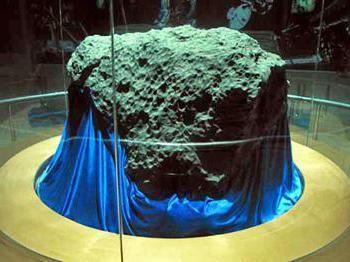 cel mai mare meteorit care a căzut la pământ