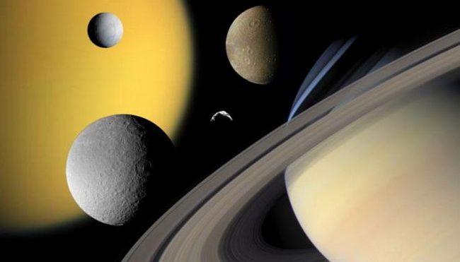 vârsta inelelor lui Saturn
