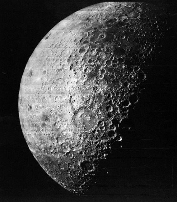 diametrul lunii