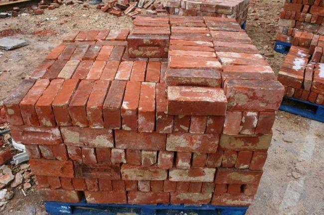 cărămizi de cărămidă de un an și jumătate