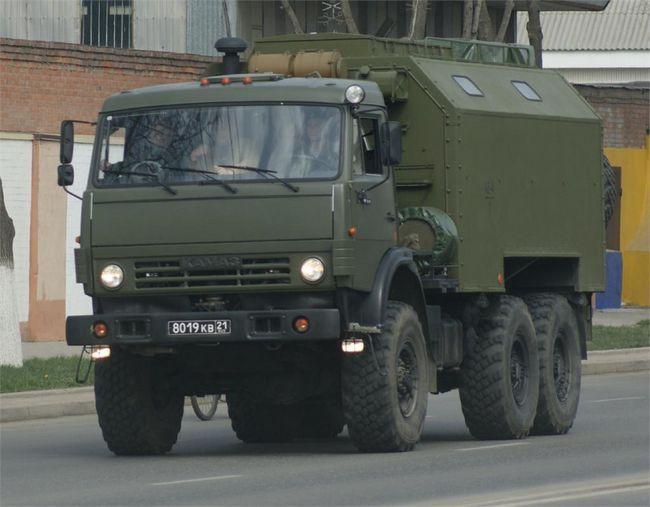KamAZ-5350 - Mustang rusesc