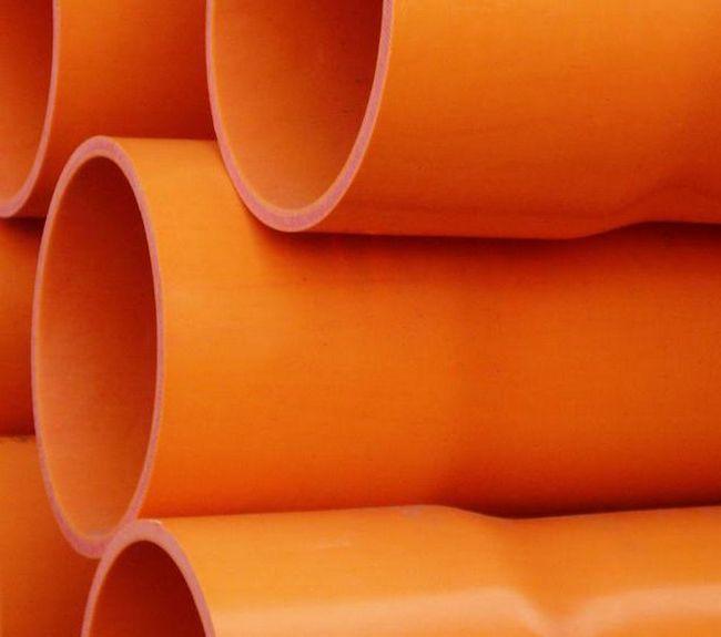 Țevi de canalizare din PVC 110 mm exterioare