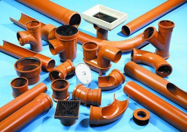 Țevi de canalizare din PVC 110 mm și fitinguri