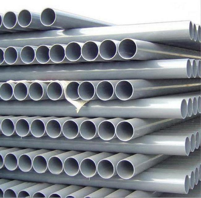 Țevi de canalizare din PVC 110 mm: internă