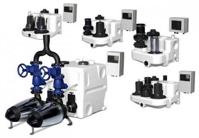 sistem automat de pompare a apelor uzate