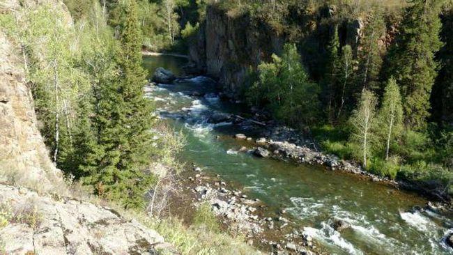 canioane ale râului psaho