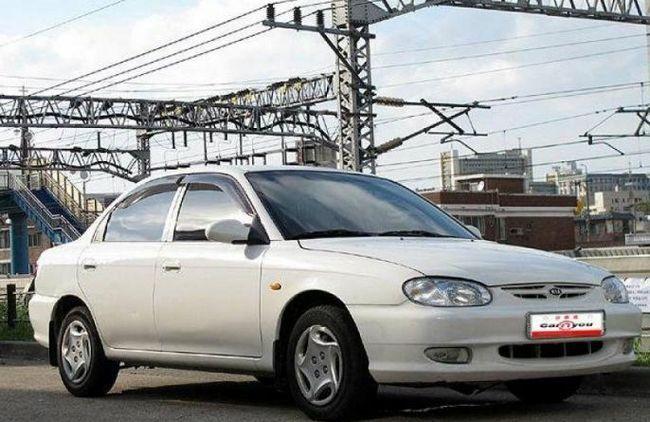 Kia Sephia - recenzie auto