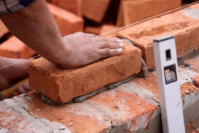 grosimea minimă a unui perete de cărămidă