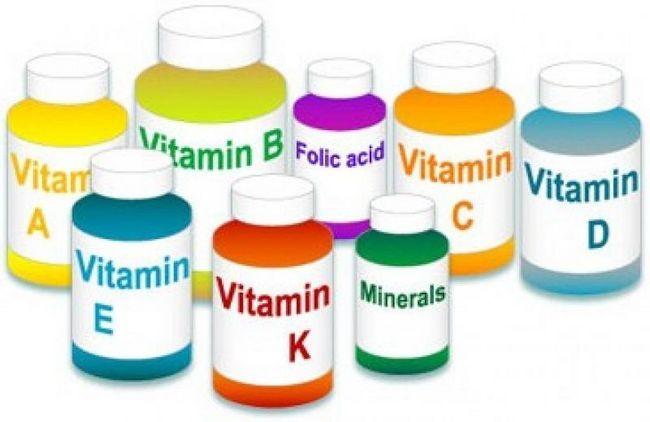 Vitamine și oligoelemente