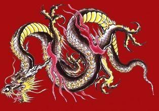 Dragonul chinezesc este un simbol al prosperității