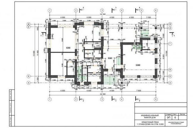 Proiecte de construcție standard