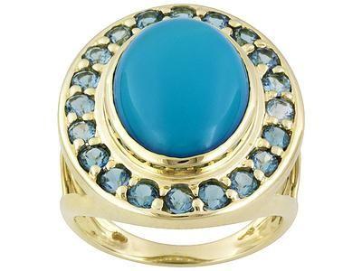 Inel cu turcoaz - un simbol al dragostei, norocului si al recunoasterii