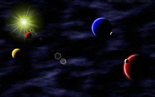 corpurile cosmice ale sistemului solar