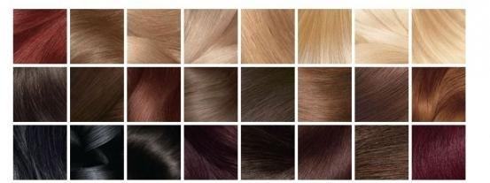 olia colorant pentru păr