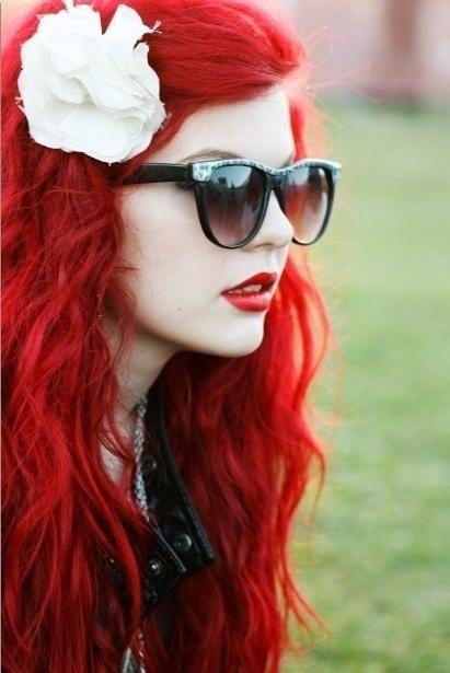 Nuanța roșie a părului: toate subtilitățile