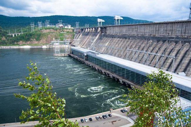 cele mai mari centrale electrice din Rusia