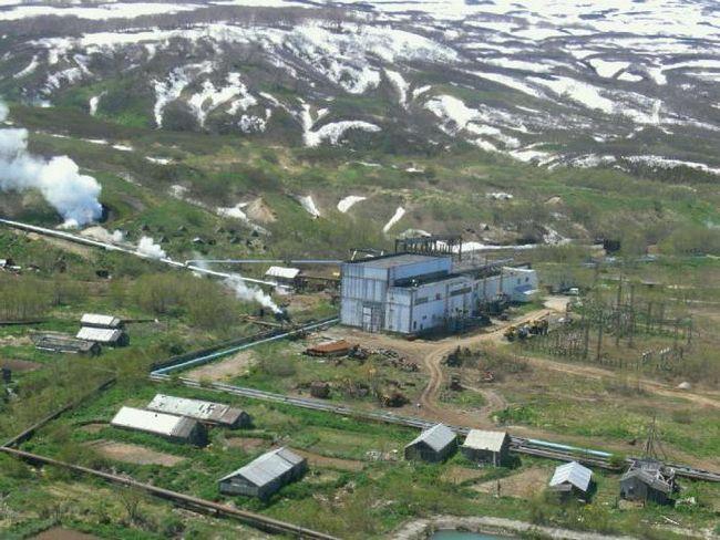 centralele geotermale din Rusia
