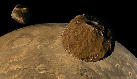 câți sateliți sunt pe Marte